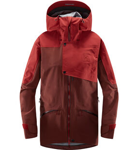 Khione 3L PROOF Jacket Women, Maroon red/brick red
