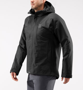 Stratus Jacket Men, True Black