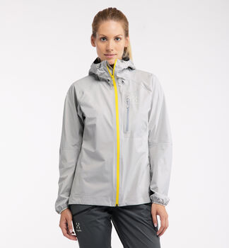 L.I.M Jacket Women, Stone Grey