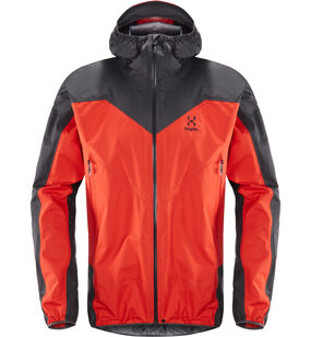L.I.M Comp Jacket Men, Pop red/slate