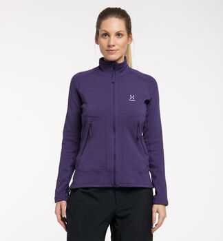 Heron Jacket Women, Purple Rain
