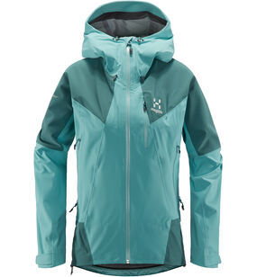 L.I.M Touring PROOF Jacket Women, Glacier green/willow green