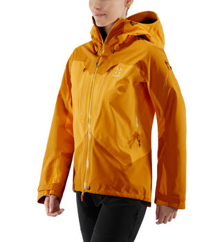 Spitz Jacket Women, Cloudberry/desert yellow