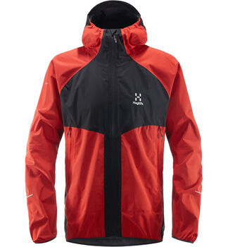 L.I.M PROOF Multi Jacket Men, Slate/pop red