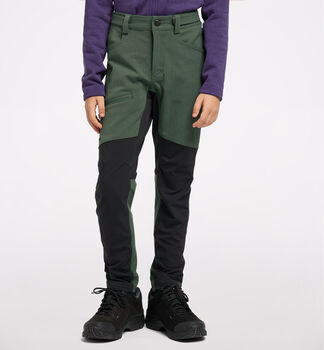 Rugged Flex Pant Junior, Fjell Green/True Black