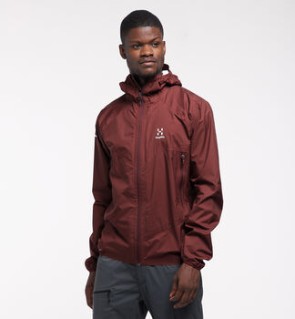 L.I.M PROOF Multi Jacket Men, Maroon red