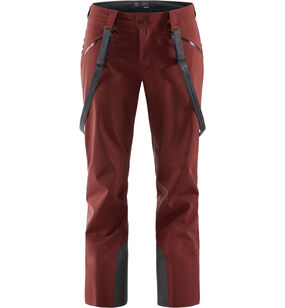 Couloir Pant Men, Maroon red