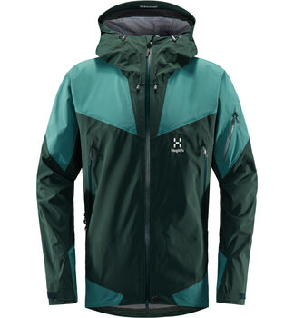 Roc Spire Jacket Men, Mineral/willow green