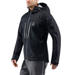 Spitz Jacket Men, True Black