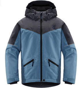 Niva Insulated Jacket Junior, Silver blue/dense blue