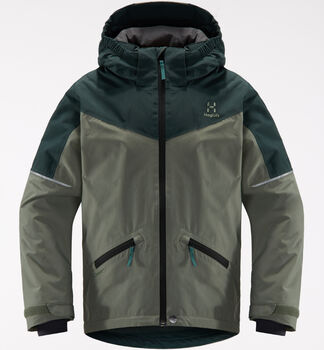 Niva Insulated Jacket Junior, Agave green/mineral