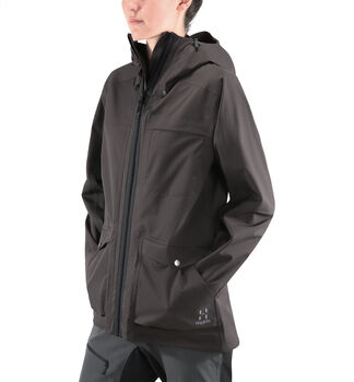 Eco Proof Jacket Women, Slate