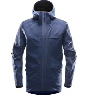 Eco Proof Jacket Men, Tarn Blue