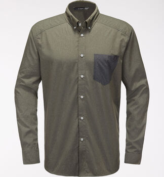 Vejan LS Shirt Men, Sage Green