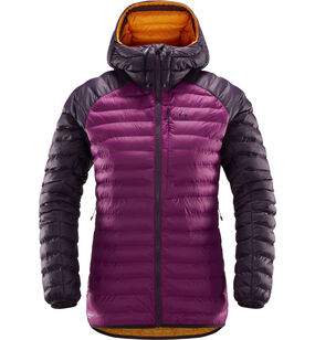 Essens Mimic Hood Women, Lilac/acai berry