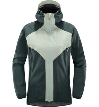 L.I.M PROOF Multi Jacket Women, Blossom green/mineral