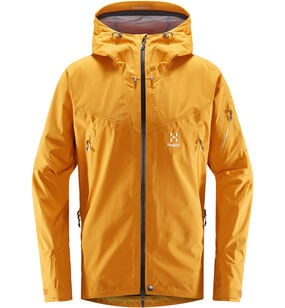 Roc Spire Jacket Men, Desert yellow