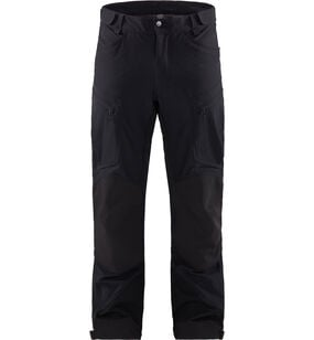 Rugged Mountain Pant Men, True Black Solid