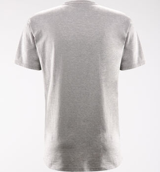 Camp Tee Men, Grey Melange