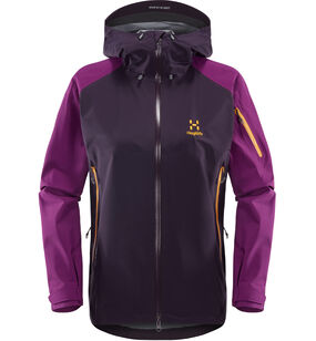 Roc Spirit Jacket Women, Acai berry/lilac