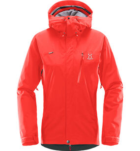 Astral Jacket Women, Real Red